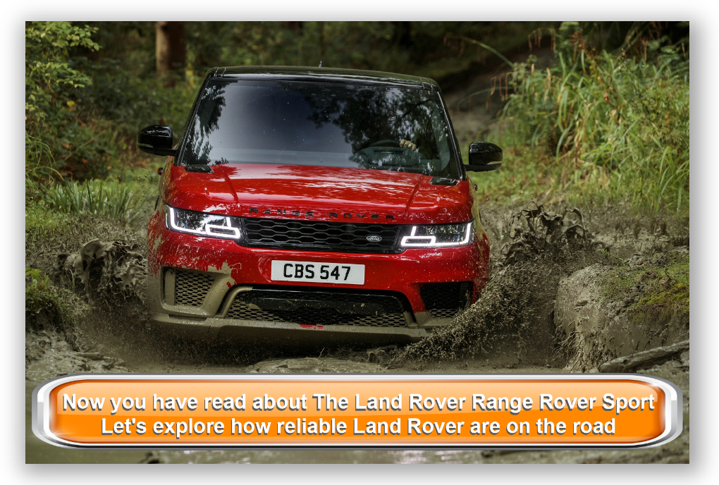 The Land Rover Range Rover Sport