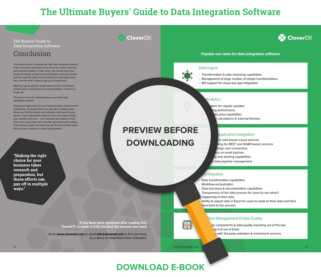 Buyers Guide to Data Integration Software - Preview