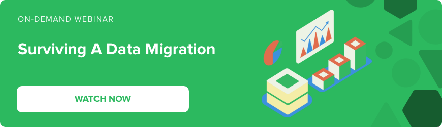 Webinar - Surviving a data migration - watch now