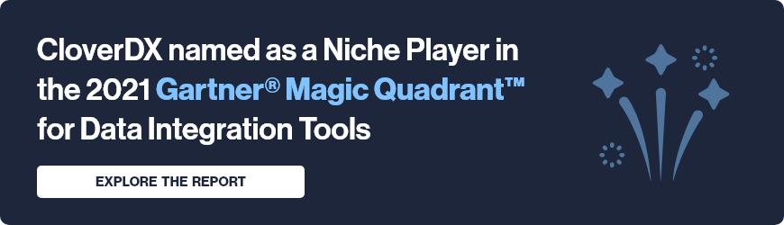 CloverDX named in 2021 Gartner Magic Quadrant for Data Integration Tools