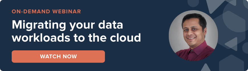Webinar - migrating data workloads to the cloud - watch now