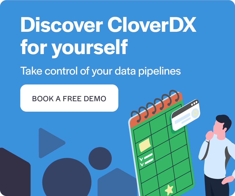 Book a free demo CloverDX CTA