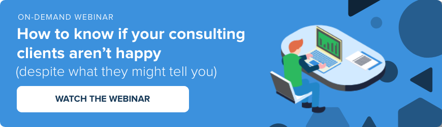 Webinar - Are your consulting clients unhappy?