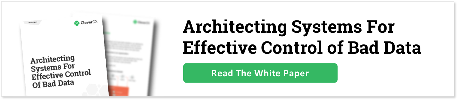 Architecting Systems For Control of Bad Data - download now