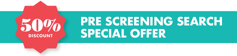 Pre Screening trademark search offer