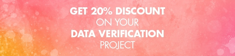GET 20% DISCOUNT ON YOUR DATA VERIFICATION PROJECT WITH BRANDSTOCK