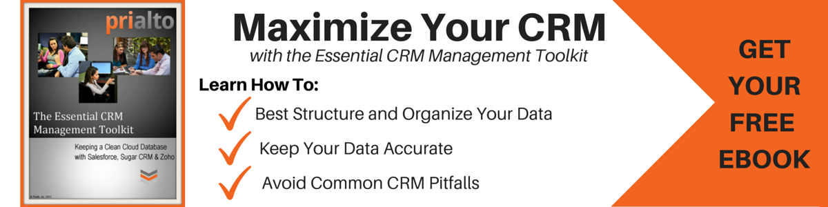 Prialto CRM Management Toolkit  Ebook
