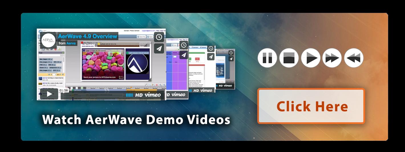 Watch The AerWave Demo Videos
