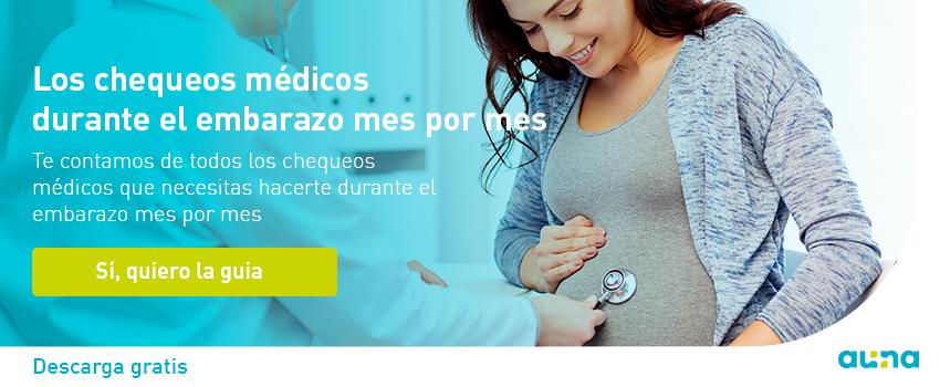 chequeos medicos durante en embarazo mes por mes