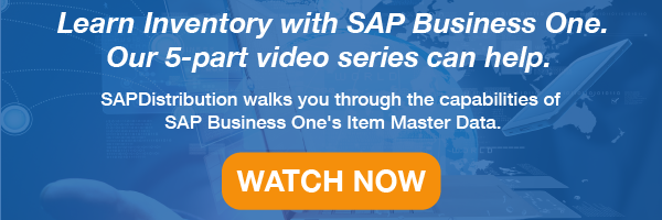 SAPB1_Item_Master_Data_Videos_WatchNow