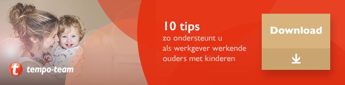Download de infographic: 10 tips om werkende ouders te ondersteunen