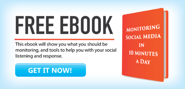 Free EBook from CarverTC How To Monitor Social Media in 10 Minutes a Day