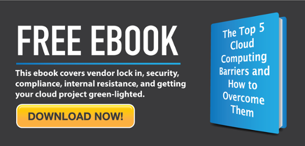 Free EBook from CarverTC The Top 5 Cloud Computing Barriers and How to Overcome THem