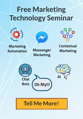 Sign up for a free Marketing Technology seminar!
