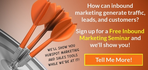 Sign up for a free inbound marketing seminar.