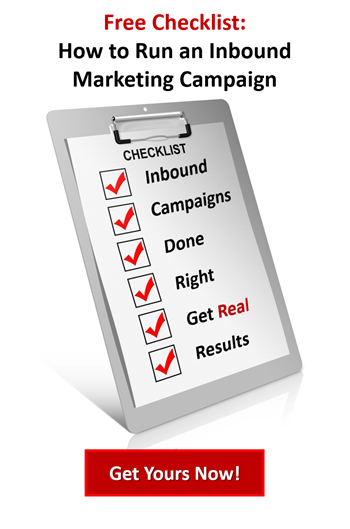 Download our checklist - how to run an inbound marketing campaign