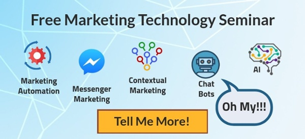 Sign up for an free Marketing Technology seminar!