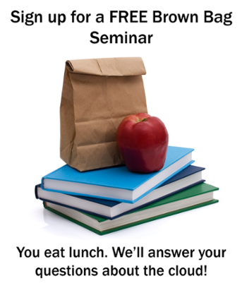 Sign up for a free brown bag seminar on cloud computing from CarveTC
