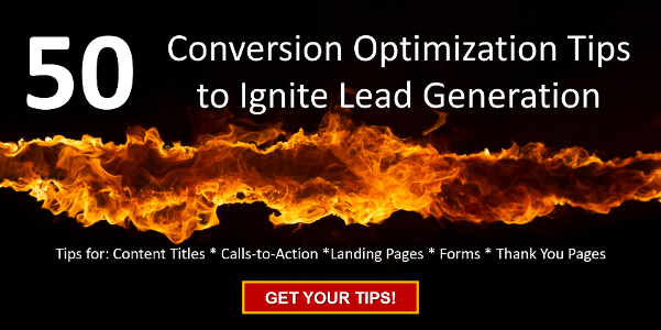 50 Conversion Optimization Tips to Ignite Lead Generation