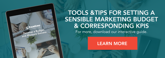 Tools & tips for setting a sensible marketing budget