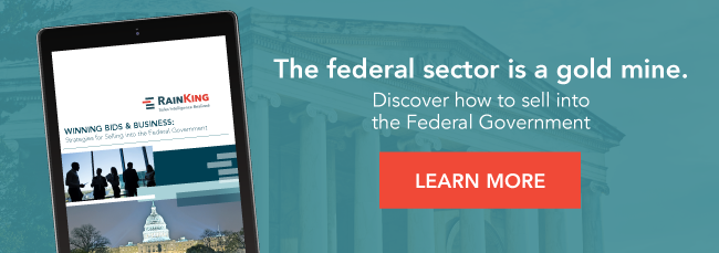 The federal sector is a gold mine.