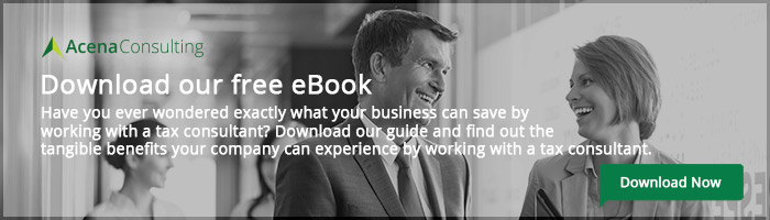 Benefits of working with a tax consultant ebook