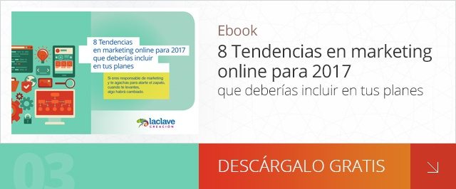 Descargar ebook 8 Tendencias en marketing online para 2017