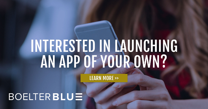 Interested in launching an app of your own?