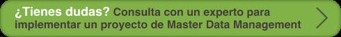 Resuelve tus dudas para implementar un proyecto de Master Data Management