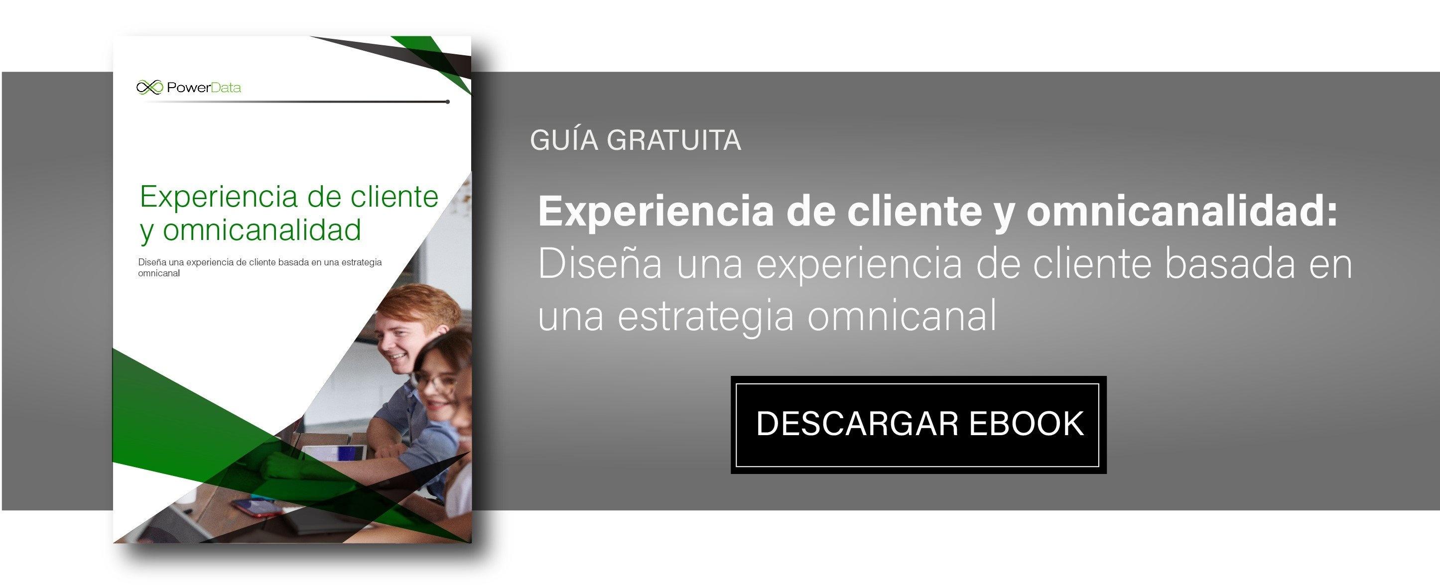 Ebook Experiencia de cliente y omnicanalidad