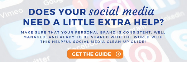 Get the Social Media Clean Up Guide!