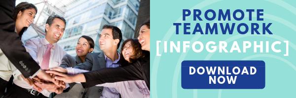 CTA: Promote Teamwork Infographic