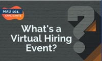 Click Here to Learn More about Virtual Hiring Events