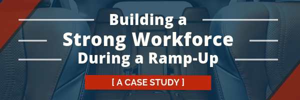 Building a Strong Workforce During a Ramp-Up - A Case Study