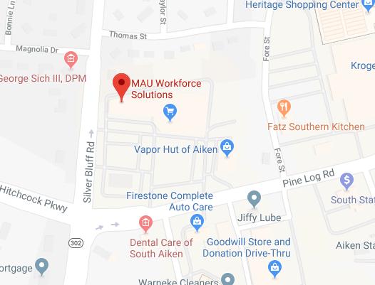 MAU Aiken Location