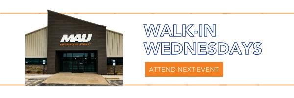 BMW Walk-in Wednesdays
