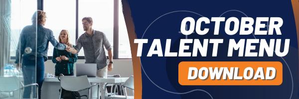 MAU Talent Menu - October