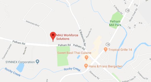 Pelham Rd. MAU Greenville branch