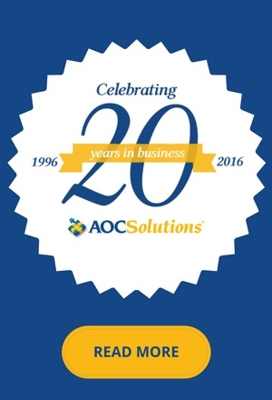 AOC Celebrates 20 Years in business