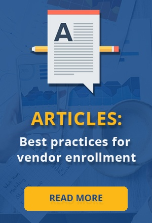 Vendor Enrollment Best Practices
