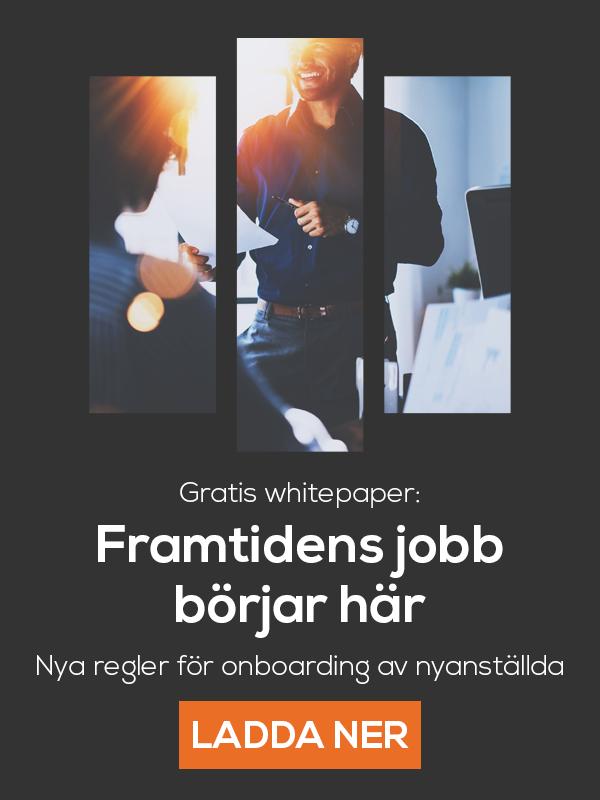 Ladda ner gratis whitepaper: Framtidens jobb börjar här