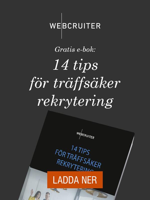 Gratis e-bok: 14 tips för träffsäker rekrytering