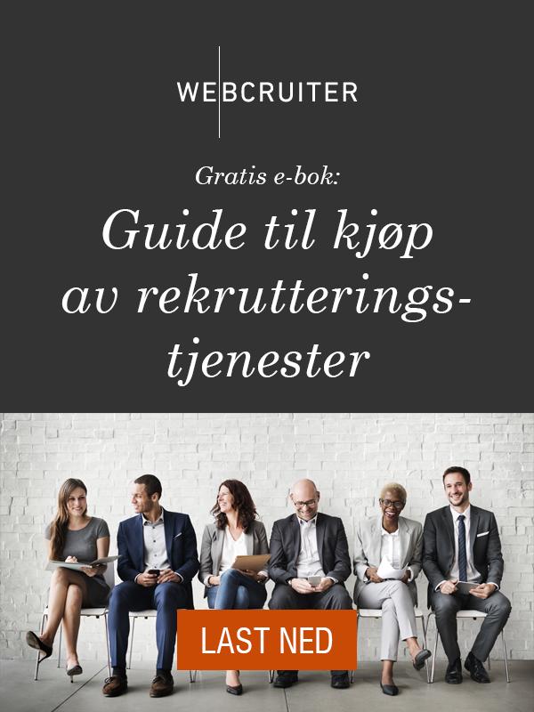 Last ned gratis e-bok: Guide til kjøp av rekrutteringstjenester