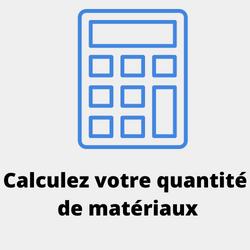 CALCULATEUR  Calculez votre quantité de blocs et dalles
