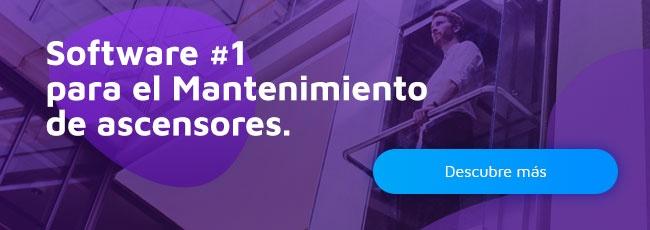 Software #1 para el mantenimiento y gestión de ascensores