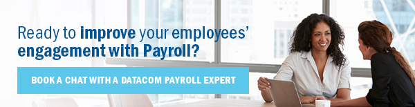 Book a chat with a Datacom payroll expert