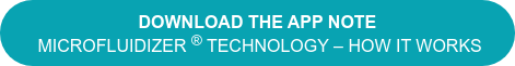 Download the App Note Microfluidizer Technology – How it works
