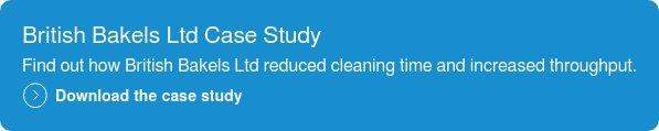 British Bakels Ltd Case Study  Find out how British Bakels Ltd reduced cleaning time and increased throughput.  Download the case study