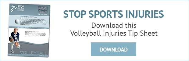 volleyball injuries tip sheet