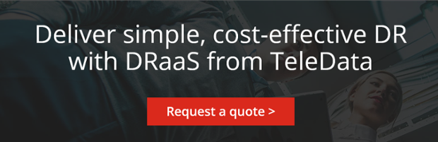 Deliver simple, cost-effective DR with DRaaS from TeleData
